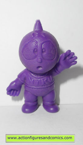 Muscle m.u.s.c.l.e men kinnikuman MITO NIKU 060 class A 1985 purple mattel toys action figures