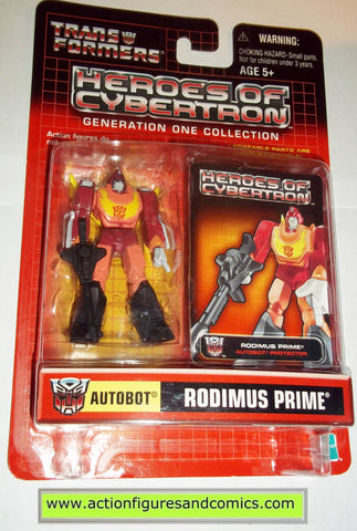Transformers pvc RODIMUS PRIME heroes of cybertron hasbro toys action figures moc mip mib