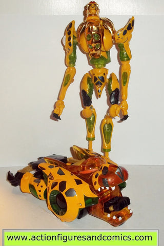 transformers beast machines CHEETOR & CHE lot hasbro toys action figures