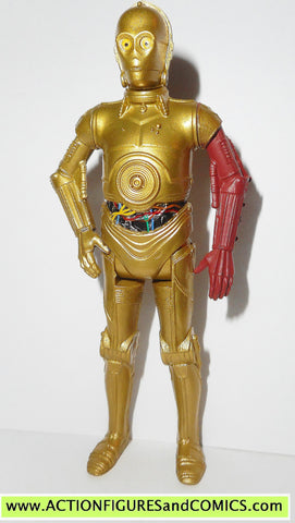 star wars action figures C-3PO force awakens 2015 movie droid