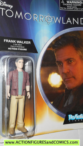 Reaction figures TOMORROWLAND FRANK WALKER george clooney movie funko toys action moc