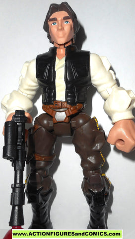 STAR WARS Hero Mashers HAN SOLO return of the jedi 6 inch toy figure