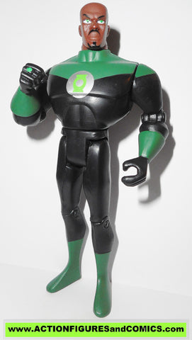 justice league unlimited GREEN LANTERN jon stewart john added articulation