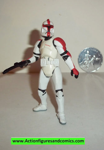 star wars action figures CLONE TROOPER OFFICER RED 30th anniversary