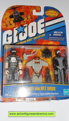 gi joe WET-SUIT WET DOWN 2001 ARAH action figures hasbro moc mip mib
