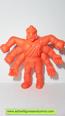Kinnikuman Kinkeshi m.u.s.c.l.e ASHURAMAN A 027 red orange Japan muscle