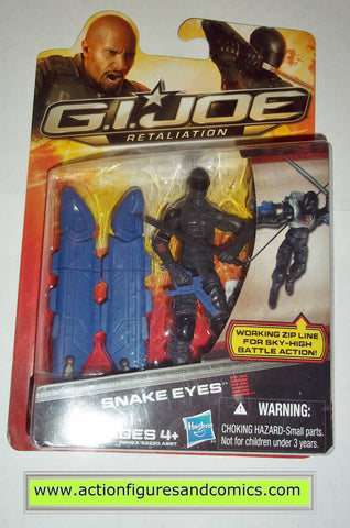 gi joe snake eyes movie retaliation hasbro toys action figures