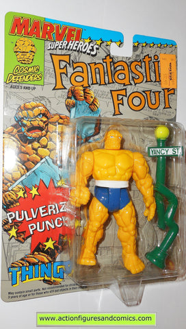 marvel super heroes toy biz THING fantastic four 1992 action figures moc
