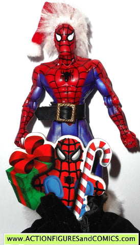 Spider-man the Animated series SPIDER-MAN Holiday christmas toy biz