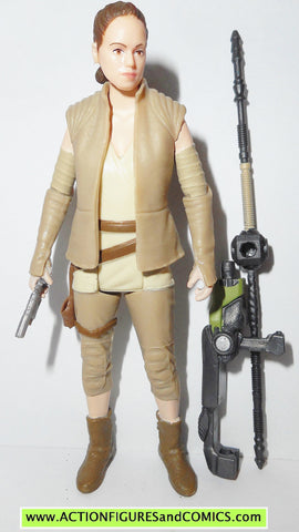 star wars action figures REY resistance outfit force awakens 2015
