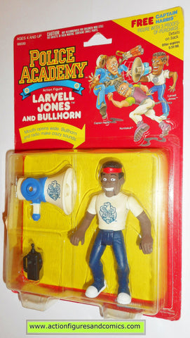 Police academy action figures LARVELL JONES 1988 moc movie #3103