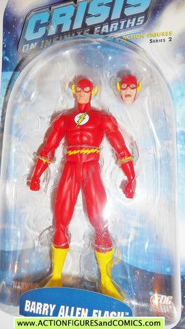 DC Direct FLASH Barry Allen CRISIS on INFINITE EARTHS 2006 collectibles moc