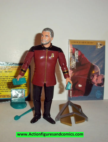 Star Trek ADMIRAL RIKER 1996 captain playmates complete action figures