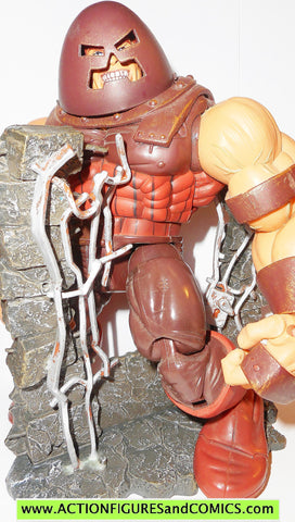 marvel legends JUGGERNAUT series VI 6 complete x-men toy biz