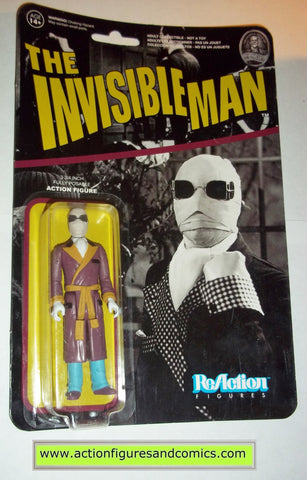 Reaction figures INVISIBLE MAN universal monsters movie funko toys action moc mip mib horror