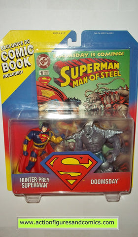 Superman Man of Steel DOOMSDAY HUNTER PREY kenner toys action figures moc mip mib
