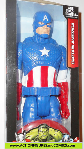 Marvel Titan Hero CAPTAIN AMERICA avengers 12 inch movie universe moc