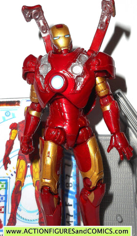 marvel universe IRON MAN mark III 03 flip up armor 2 movie