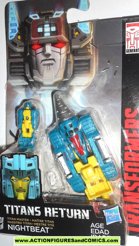 transformers NIGHTBEAT titans return combiner wars legends class 2016 moc