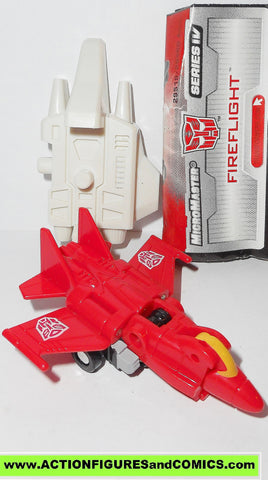 Transformers universe FIREFLIGHT superion arealbots micromaster 2004 complete