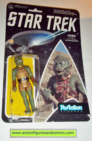 Reaction figures Star trek GORN funko toys action moc mip mib