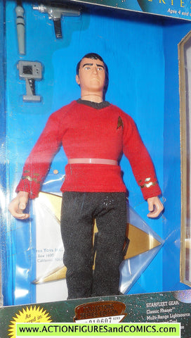 Star Trek SCOTTY montgomery scott 9 inch playmates toys action figures moc mip mib