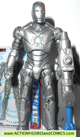 marvel universe IRON MAN mark II 02 movie complete hasbro