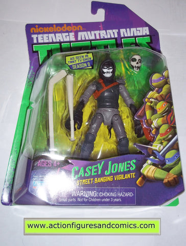 teenage mutant ninja turtles CASEY JONES 2013 Nickelodeon playmates toys mib moc mip tmnt