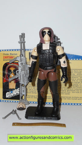 gi joe ZARTAN 2001 v3 ARAH A real american hero hasbro toys action figures