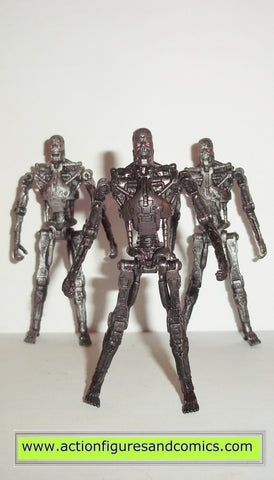 Terminator playmates T- 700 T-RIP CUSTOM paint salvation movie action figures toys fig
