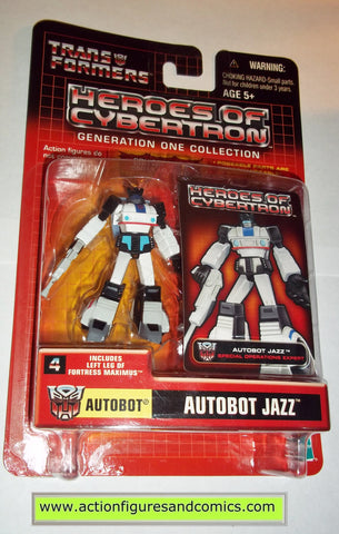 Transformers pvc JAZZ AUTOBOT heroes of cybertron hoc hasbro toys action figures moc mip mib