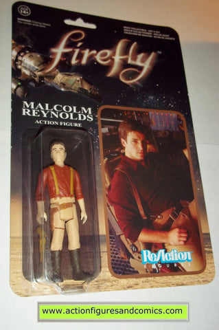 Reaction figures Firefly MALCOME REYNOLDS serenity funko toys action moc mip mib