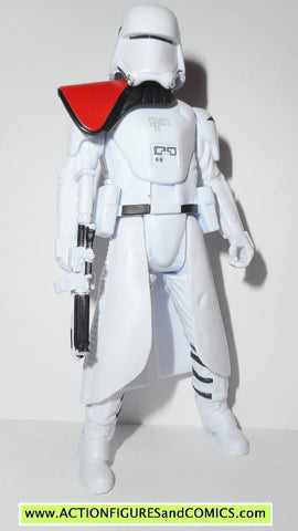 star wars action figures SNOWTROOPER OFFICER snowspeeder pilot force awakens