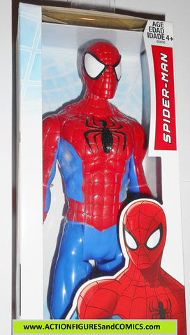Marvel Titan Hero SPIDER-MAN 12 inch classic red blue ultimate movie universe moc