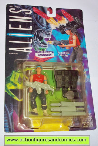 aliens vs predator kenner VASQUEZ UK exclusive moc mip mib usa style bubble