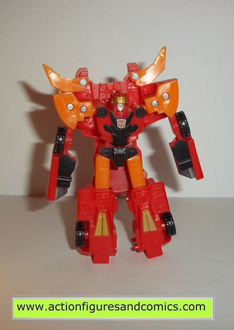 transformers cybertron HOT SHOT red hasbro toys legends action figures