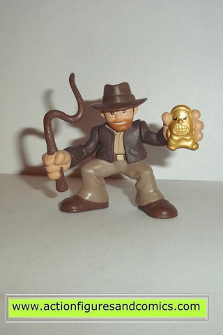 Indiana Jones hasbro INDIANA JONES w IDOL adventure heroes complete kenner hasbro toys action figures