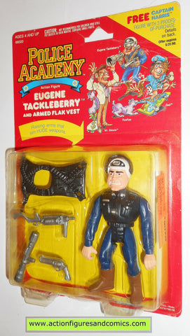 Police academy action figures EUGENE TACKLEBERRY 1988 moc mip mib