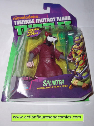teenage mutant ninja turtles SPLINTER 2012 Nickelodeon playmates toys mib moc mip tmnt