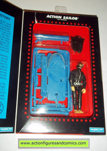gi joe ACTION SAILOR NAVY SEAL commemorative collection 1994 hasbro toys moc mip mib action figures