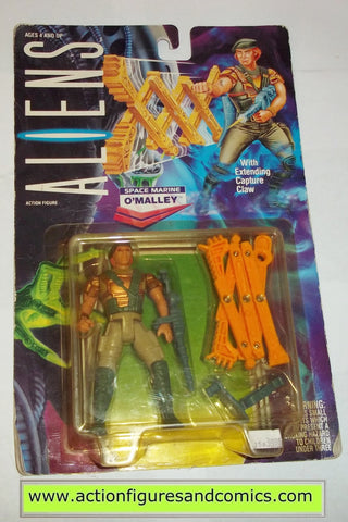 aliens vs predator kenner O'MALLEY UK exclusive moc mip mib USA style bubble