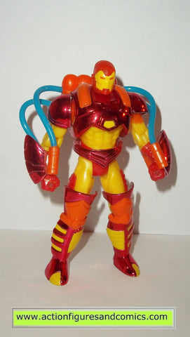 Iron man INFERNO ARMOR 1994 marvel universe action hour toy biz figures 99P