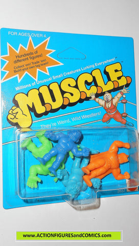 Muscle m.u.s.c.l.e men kinnikuman 4 pack moc ROBIN MASK Orange class b