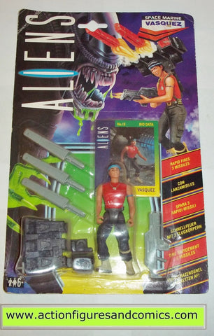 Kenner 1992 ALIENS space marine VASQUEZ rare UK exclusive. New