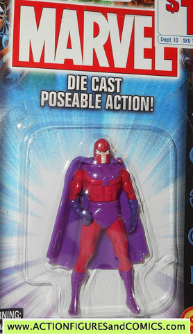 Marvel die cast MAGNETO poseable action figure 2002 toybiz x-men universe moc