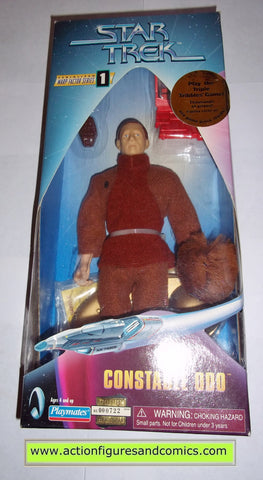Star Trek ODO TRIBBLES VARIANT 9 inch playmates toys action figures moc mip mib