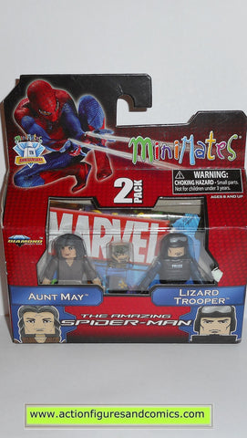 minimates AUNT MAY LIZARD TROOPER spider-man amazing movie marvel universe moc mip mib