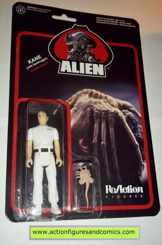 Reaction figures Aliens KANE FACEHUGGER movie funko toys action moc mip mib horror