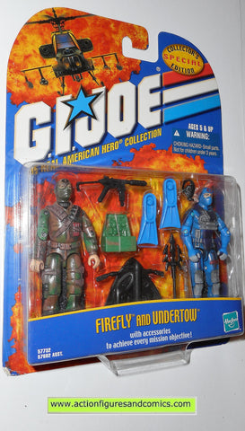 gi joe FIREFLY Cobra UNDERTOW 2000 ARAH action figures moc mip mib