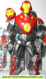 marvel universe IRON MAN ultimate 36 iron man 2 complete hasbro toys action figures
